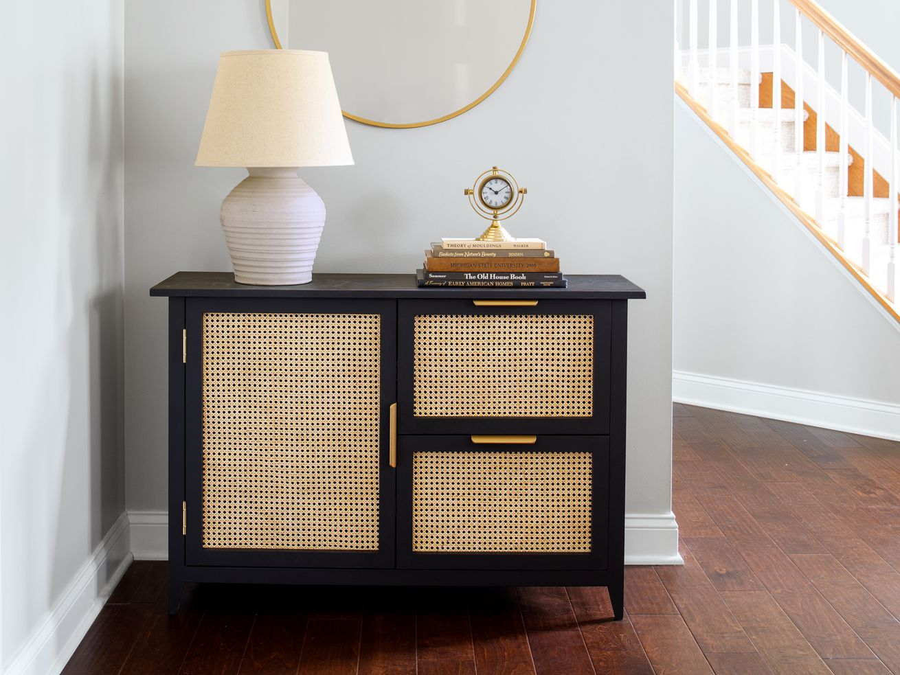Fall 2021, Easy DIY, console cabinet, finished