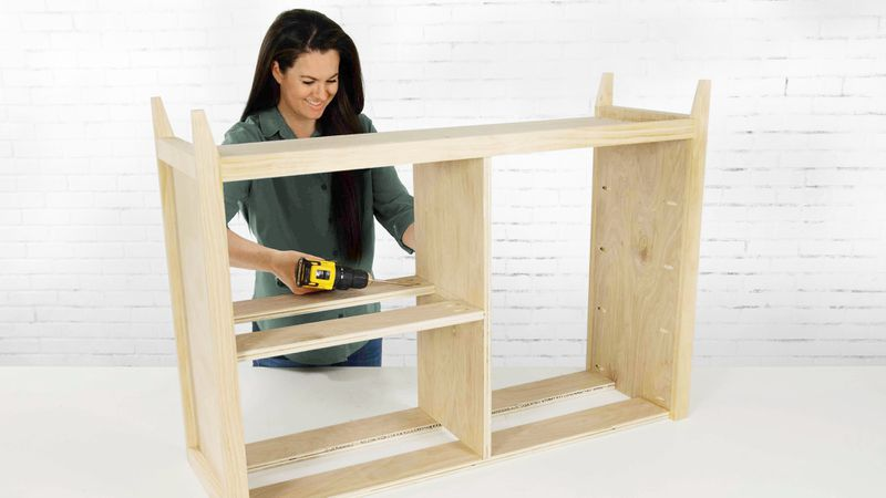 Fall 2021, Easy DIY, console cabinet, step 4