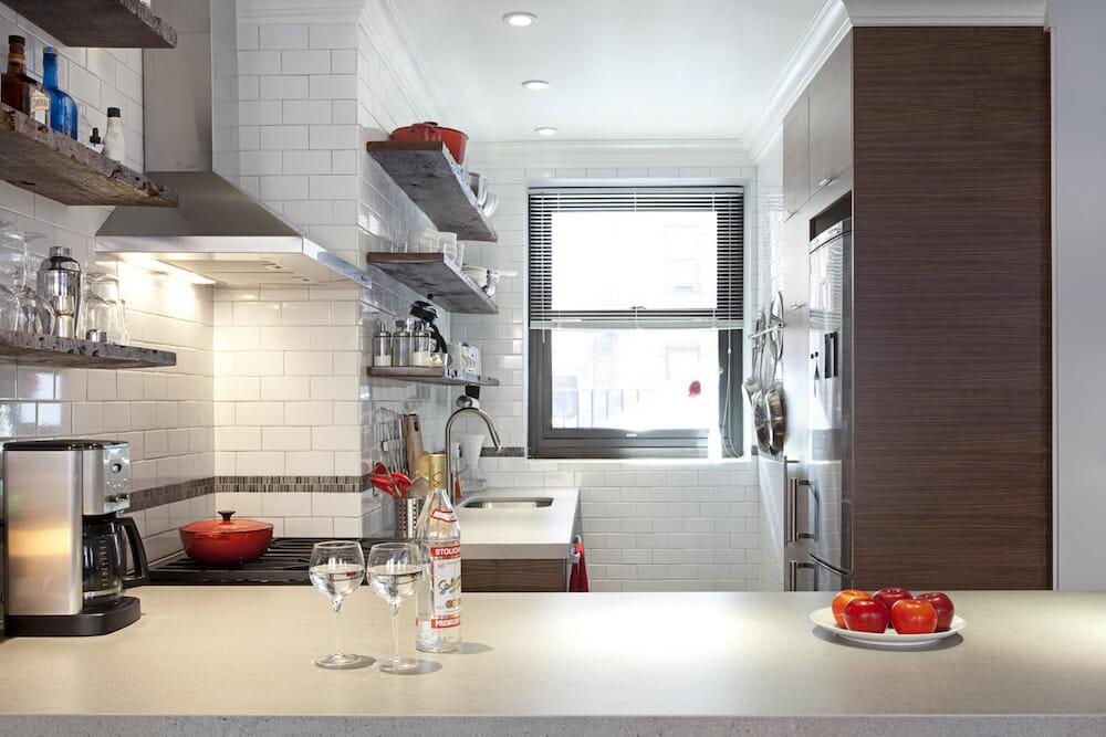 Image of laminate kitchen countertops